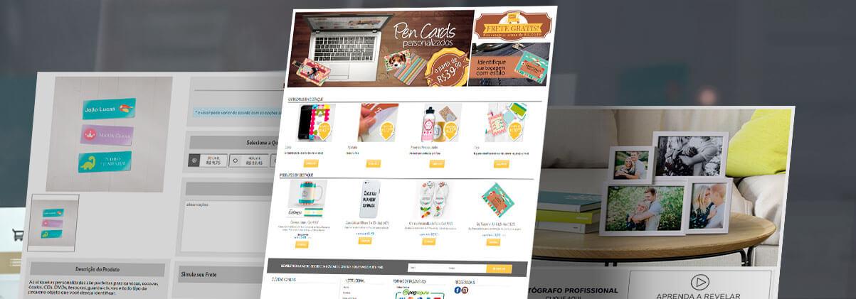 Print One Modelo De Loja De Gráfica Online